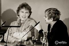 Rolf Lappert und Robert Stadlober