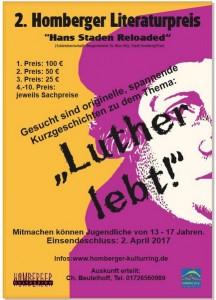 Ausschreibung Luther lebt!